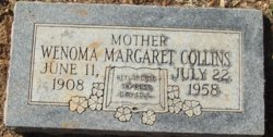 Wenoma Margaret <I>Albright</I> Collins