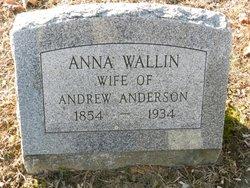 Anna <I>Wallin</I> Anderson