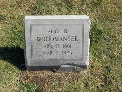 Alice <I>Duncan</I> Woodmansee