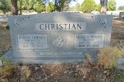 """Byron Edward """"Pop Butch"""" Christian"""