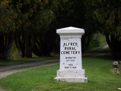 Alfred Rural Cemetery