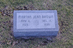 Martha Jean Brown