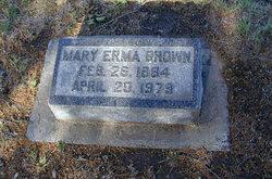 Mary Erma <I>Nesbitt</I> Brown