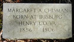 Margaret Augusta <I>Anderson</I> Chisman