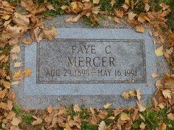Faye <I>Chipman</I> Mercer