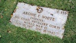 PFC Archie E White