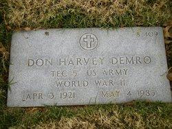 "Donald Harvey ""Don"" Demro"