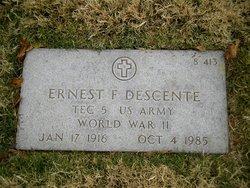 Ernest F Descente