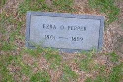 "Ezeriah O. ""Ezra"" Pepper, Sr"