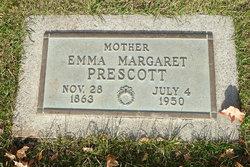 Emma Margaret <I>Anderson</I> Prescott
