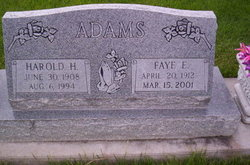 Harold Henry Adams