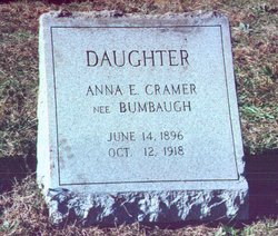 Anna Ethel <I>Bumbaugh</I> Cramer