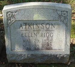 Ellen <I>Rigg</I> Atkinson