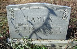 Blanch Isabelle <I>Williams</I> Hayes