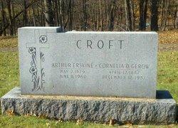 Cornelia D. <I>Gerow</I> Croft