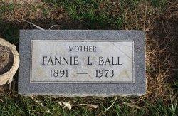 Fannie I <I>Pumpfrey</I> Ball