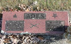 Minnie A <I>Parker</I> Ades