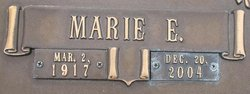Marie Evelyn <I>Seale</I> Brown