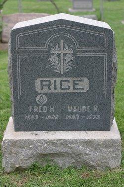 Maude R. <I>Rice</I> Hoxsey