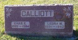 Charles E Calliott