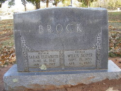 Willis Jasper Brock Sr.