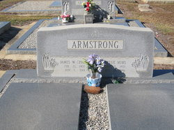 Bessie <I>Mims</I> Armstrong