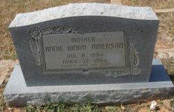 "Marie Virgina ""Jinnie"" <I>Ward</I> Amerson"
