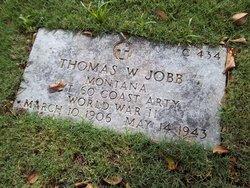 Pvt Thomas W Jobb