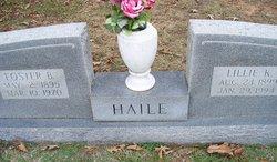 Lillie F. <I>Killgore</I> Haile
