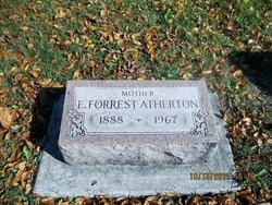 E Forrest Atherton