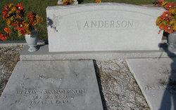 Zella Frances <I>Waters</I> Anderson