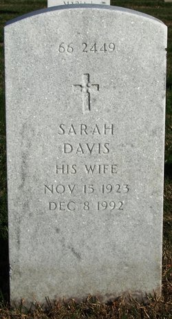 Sarah <I>Davis</I> Arlington