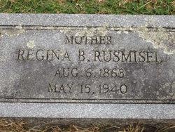 Regina <I>Miller</I> Rusmisel