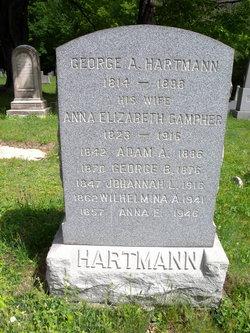 Anna Elizabeth <I>Gampher</I> Hartmann