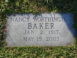 Nancy <I>Worthington</I> Baker