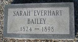 Sarah <I>Everhart</I> Bailey