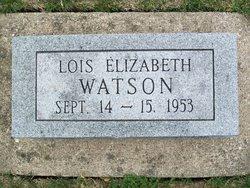 Lois Elizabeth Watson