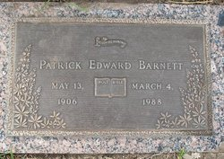 Patrick Edward Barnett