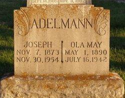 Ola May <I>Eberhardt</I> Adelmann