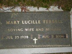 Mrs Mary Lucille <I>Cumber</I> Ferrell