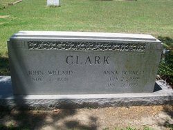 """Anna Louise """"Ann"""" <I>Burnett</I> Clark"""