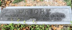 Fannie M. <I>Crowder</I> Wright