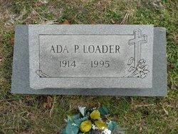 Ada Pauline <I>Gallaher</I> Loader