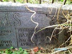 """Hazel Marie """"Granny"""" <I>Webb</I> Sims"""