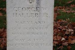 Sgt George W Haller Jr.