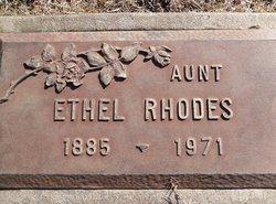 Ethel <I>McClurkin</I> Rhodes