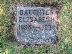 """Elisabeth Catherine """"Betty"""" Bovy"""