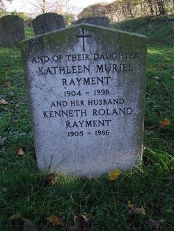 Kathleen Muriel <I>Whitaker</I> Rayment