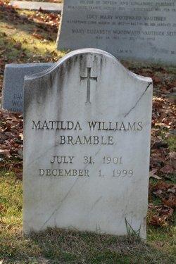Matilda <I>Williams</I> Bramble