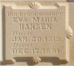 """Inger Marie """"Eva"""" Hansen"""